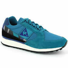 LE COQ SPORTIF ECLAT 90 GRAPHIC RETRO SHOES TRAINERS RUNNING SNEAKERS BLUE BLACK