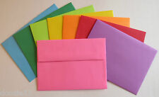PE30 A7 7 1/4 x 5 1/4 Colored Greeting Card Envelopes  60#  Color Choice 5x7