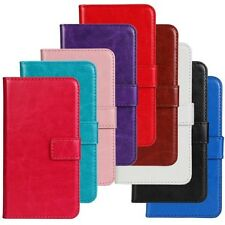 For iPhone 4/4S / 5/5S/5C Crazy Horse Wallet Leather Cover Case in cell phone