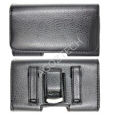 PREMIUM Leather Belt Clip Case Pouch for Cell Phones fits with Otterbox Defender