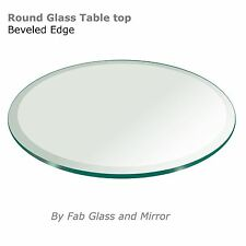 """Round Glass Table Top :Size 12"""",14"""",16"""",18"""",20"""",23"""",24"""",25"""",26"""",27"""",28""""..to 60"""""""