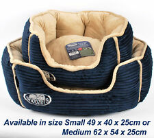 Snoozers Sapphire Pet Dog Donut Bed Tub Basket Pillow Sofa Bed Mattress