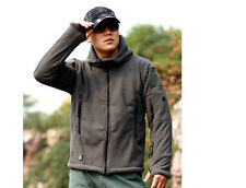 New Cool Outdoor Thicken Warm Fleece Tactical Jacket Windproof Outerwear Coats