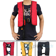 Adult Automatic / Manual Inflatable PFD Life Vest Buoyancy Aid Sailing Jacket