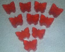 HANDMADE BUTTERFLY SOAPS,GIRLS PARTY BAG FAVOURS, BIRTHDAY PRESENTS