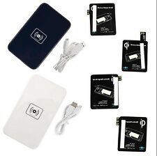 Qi Wireless Charger Charging Pad + Receiver Kit for Samsung Galaxy S4 S5  N3