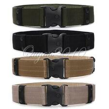 Adjustable Men's Tactical Army Military EMT Security SWAT Heavy Duty Combat Belt