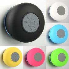 Mini Waterproof Wireless Bluetooth Handsfree Car Shower Home Mic Speaker JMHG