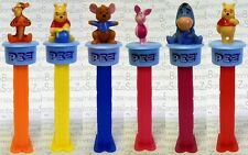 PEZ - WINNIE POOH CLICK` n PLAY 2009 -  6 DIFFERENT - Please select !!!