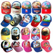 Fashion Children Cartoon Printed Baseball Cap&Sun Cap Multi-color For 3-7 Y