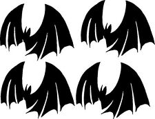 * Halloween bat 4 pack for costume party or sign mirror wall car truck 4 x 4