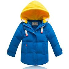 High quality Kids Boys Thicken Detachable sleeves Down Jacket 5 Color size 2-7Y