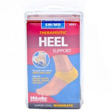 New Mueller Therapeutic Heel Support Relieve Foot Ankle Pain Blisters & Spurs
