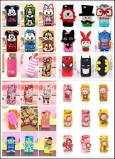 NEW!!3D Cute Soft Animal Silicone  fruit Phone Case Cover For iphone 5G/5S