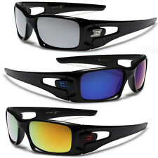 SMALL D-EXTREME MIRRORED MEN'S SQUARE SPORTS SUNGLASSES CYCLING DRIVING BASEBALL