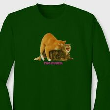 TWO DUDES Golf Wang OFWGKTA Cats T-shirt Odd Future Tyler Long Sleeve Tee