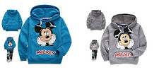 Baby Kids Boys Toddlers Hoodies Tracksuit Children Clothing Set Sportswear 6-7Y