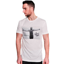 Roots of Fight Jack Johnson Photo T-Shirt - Vintage White