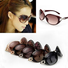 Hot Women's Retro Vintage Shades Oversized Eyewear Fashion Designer Sunglasses