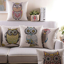 "18""*18"" Cushion Cover Home Decorative Throw Pillow Cases Retro Sofa 9 Styles"