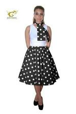New with defect on elastic 50s Rock n Roll Polka Dot Full Circle Skirt & Scarf