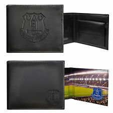 Everton FC Official Football Gift Embossed Crest Wallet Black (RRP £24.99!)