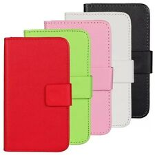 PU Leather Wallet Mobile Phone Cell Case Cover For Huawei Ascend With Card