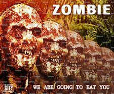 Zombie ~ Frosting Sheet Cake Topper ~ Edible Image ~ D6658