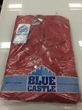 Blue Castle 366 Lightweight Coverall Boiler Suit - Red (Various Sizes)