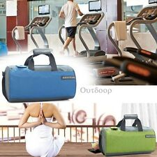 Travel Outdoor Tote Nylon Barrel Sports Gym Shoulder Duffle Bag With Strap Bag