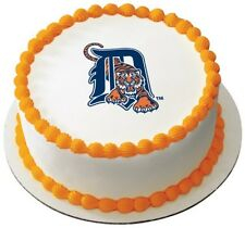 MLB Detroit Tigers ~ Frosting Sheet Cake Topper ~ Edible Image ~ D816