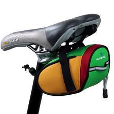 SALE Cycling Bike Bicycle Strap-On Rear Seat Saddle Tail Bag Quick Release 600D