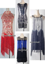 1920's Flapper Great Gatsby Party Clubwear Various Style Colors Dress  SCG DRESS