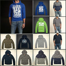 NWT HOLISTER  MENS HOODED T-SHIRT SIZES S M L XL