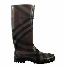Stivali Boots Burberry donna woman gomma rubber gummi check Burberry