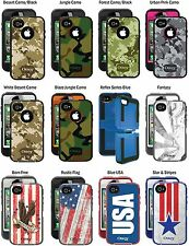 OtterBox Defender iPhone 4, /iphone 4S case with Holster, 10 styles+reflex, New