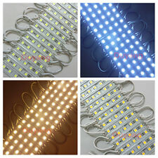 20 PCS SMD 5050 Super Bright 5LEDs Cool Warm White Waterproof LED Module Lamp