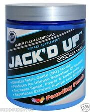 Hi-Tech Pharmaceuticals JACK'D UP Pre-Workout Nitric Oxide ~FAST FREE SHIPPING~
