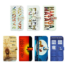 Hakuna Matata Doctor Who Wallet Flip PU Leather Case for Samsung GalaxyS3 S4 S5