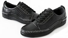 PRIMIUM NEW Mens Business Casual Shoes for Men Boys Loafers Sneakers Black Cheap