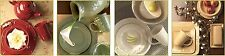 Dinnerware Set 4 Piece Serving Dishes Plates Bowl Coffee Mug Cups Stoneware Home