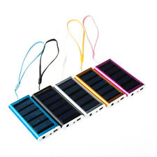 1350mAh Portable Solar Power Panel Bank Back Up Battery USB Charger Cell Phone