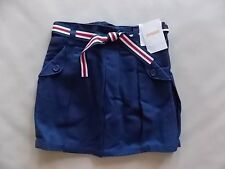 NWT Girl's Gymboree Uniform School blue adjustable skorts skirt ~ 4 6 8 9 10 12