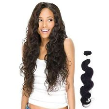 100% Virgin Brazilian Human Hair Weave Extension Unprocessed Bundle