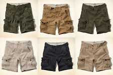 NWT Hollister By Abercrombie Mens Hollister Cargo Shorts