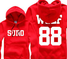 EXO-M EXO-K EXO XOXO WOLF FROM PLANET SWEATER Smart HOODIE KPOP simply NEW UK JX