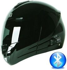 FLIP UP FULL FACE MOTORCYCLE HELMET with 2 SPEAKER  BLUETOOTH  / DOT RATED