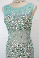 JOVANI 78482 Green $500 Evening Prom Pageant Gown NWT-Available Size 2,4,6,8,10