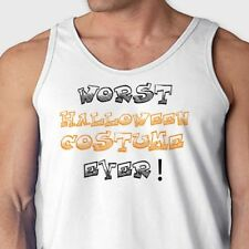 WORST Halloween Costume EVER! T-shirt Funny Contest Easy Humor Men's Tank Top