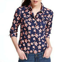 NWT Tommy Hilfiger Long-Sleeve Floral-Print Shirt US$45